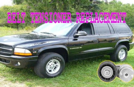 Durango Belt Tensioner Replacement  1998✔ Providence Rhode Island 2018