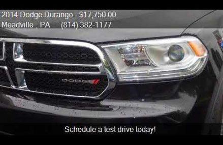 2014 Dodge Durango SXT AWD 4dr SUV for sale in Meadville , P St. Petersburg Florida 2018