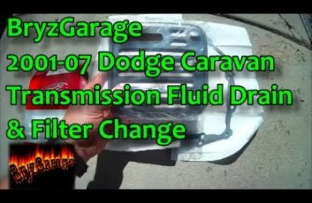 2001-07 Dodge Caravan Transmission Drain & Filter Change From Luther 49656 MI