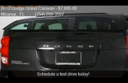2012 Dodge Grand Caravan SXT 4dr Mini Van for sale in Mirama For Minersville 84752 UT