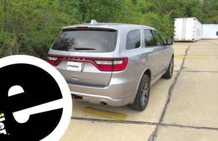 Trailer Wiring Harness Installation – 2018 Dodge Durango – etrailer.com Philadelphia Pennsylvania 2018