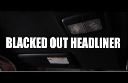 BLACKED OUT HEADLINER pt 2 For Mansfield Center 6250 CT