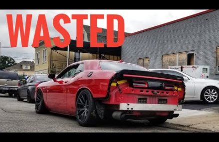 My Challenger Hellcat Looks Wrecked : Going Wide Body Local Area 65609 Bakersfield MO