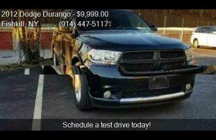 2012 Dodge Durango SXT AWD 4dr SUV for sale in Fishkill, NY Mobile Alabama 2018