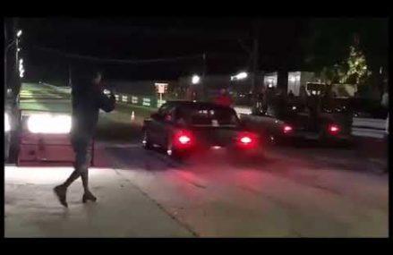 Caravan 6cil. aspirada vs Dodge v8 – 2° puxada – arrancada Sorocaba Local New Haven 6537 CT