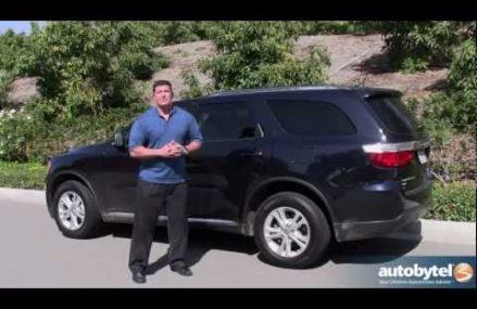 2012 Dodge Durango Road Test & SUV Review Naperville Illinois 2018
