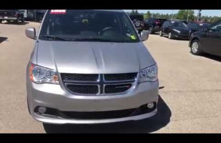 2017 DODGE GRAND CARAVAN SXT PREMIUM PLUS – P9532A in Moran 76464 TX