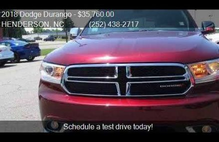 2018 Dodge Durango SXT Plus 4dr SUV for sale in HENDERSON, N Columbus Georgia 2018