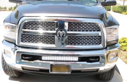 iJDMTOY Lower Bumper LED Light Bar for the 09-18 Dodge RAM 2500/3500 Place 45382 West Manchester OH