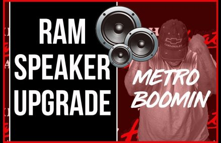 2017 Ram  1500 Speaker Upgrade Area Code 54566 Wabeno WI