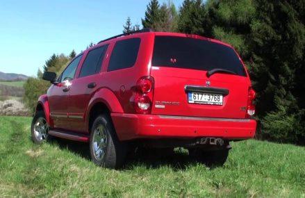 Dodge Durango 5,7 HEMI Magnum Limited TEST drive AutoZine.cz Tucson Arizona 2018