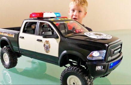 BRUDER Trucks POLICE Dodge RAM Bruder Pickup RC conversion Near 31332 Valona GA