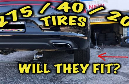 275 Tires On Stock Dodge Charger Wheel at 83520 Ahsahka ID