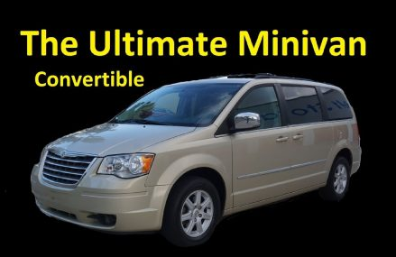 2010 CHRYSLER TOWN & COUNTRY ~ CONVERTIBLE ~ MINIVAN VIDEO REVIEW at Lysite 82642 WY