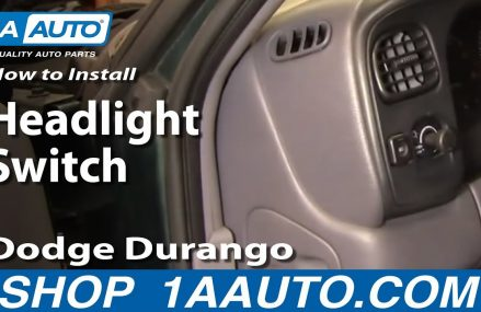 How to Replace Headlight Switch 98 Dodge Durango Knoxville Tennessee 2018