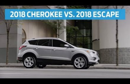 Compare 2018 Jeep Cherokee with 2018 Ford Escape | Head to Head | Ford Bridgeport Connecticut 2018