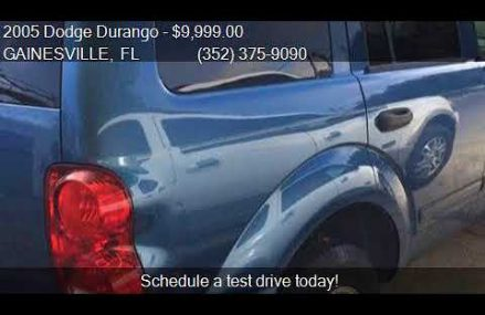 2005 Dodge Durango SLT 4dr SUV for sale in GAINESVILLE, FL 3 Oceanside California 2018