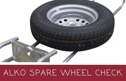 Alko spare wheel carrier – Check your tyre! From Nebo 28761 NC