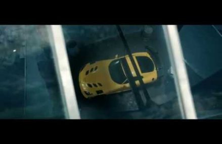 Dodge Viper Commercial in Mottville Speedway, Mottville, Michigan 2018