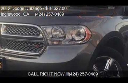 2012 Dodge Durango Citadel 4dr SUV for sale in Inglewood, CA Henderson Nevada 2018