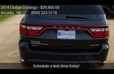 2014 Dodge Durango Limited AWD 4dr SUV for sale in Arcadia, Grand Prairie Texas 2018