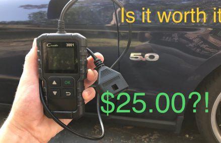$25 OBD2 Scanner Review Near Marlton 8053 NJ