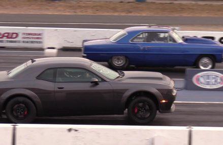 Dodge Viper Drag Car Near Gainesville Raceway, Gainesville, Florida 2018