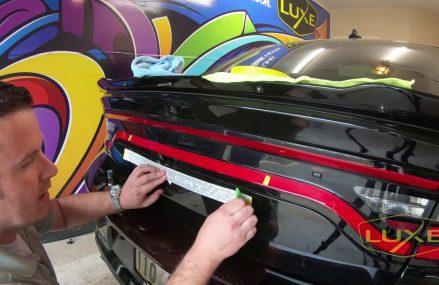 2015+ Charger Racetrack Taillamp Decal Installation Around Zip 30370 Atlanta GA