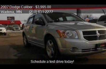 Dodge Caliber Cvt Transmission From Cross Plains 76443 TX USA