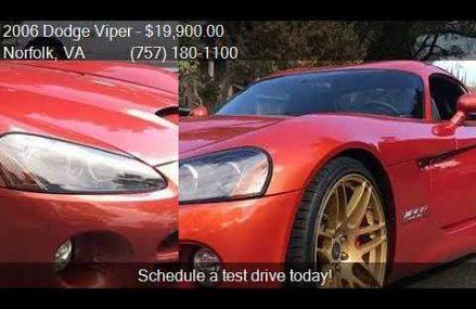 Dodge Viper Autotrader at Fairgrounds Speedway, Nashville, Tennessee 2018