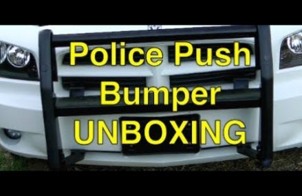 Unboxing Police Push Bumper Within Zip 30411 Alamo GA