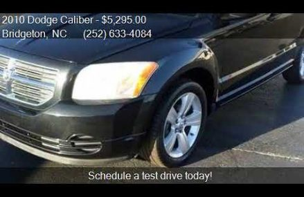 Dodge Caliber Black at Cross Plains 76443 TX USA