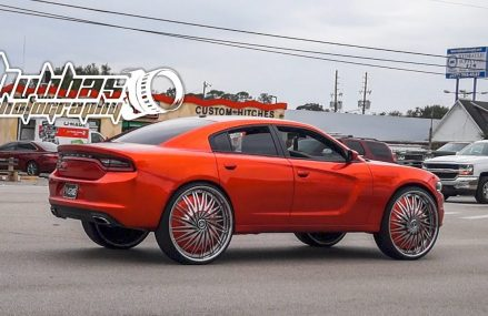 Kandy Orange Charger Sitting on 28″s For 42201 Aberdeen KY