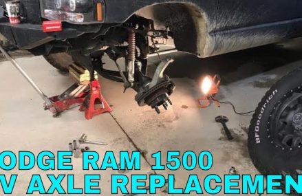 Dodge Ram 1500 4×4 CV Axle Install • DIY Walkthrough Milwaukee Wisconsin 2018
