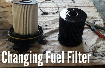 How to Change Fuel Filter on 03-07 Dodge Ram Cummins Shreveport Louisiana 2018