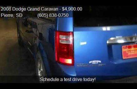 2008 Dodge Grand Caravan SXT Extended Mini Van 4dr for sale at Mingus 76463 TX