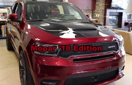 2018 Dodge Durango SRT Mopar Edition | 18DU5645 | Crosstown Chrysler Jeep Dodge | Edmonton AB San Jose California 2018