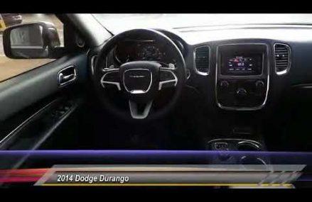 2014 Dodge Durango Midland Texas EC344268T Fort Wayne Indiana 2018
