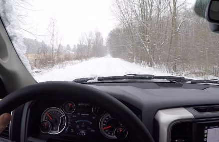 2018 Ram 1500 Big Horn Crew Cab 4×4 – POV Winter Driving Local 20222 Washington DC