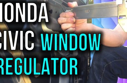 Honda Civic Manual Window Regulator Replacement For Macedonia 51549 IA