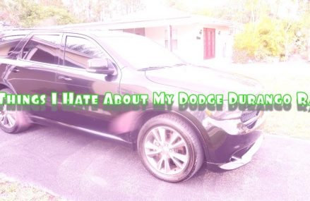 5 THINGS I HATE ABOUTMY DODGE DURANGO R/T Pasadena California 2018