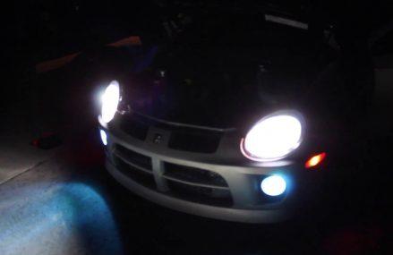 LED Headlights Neon srt4 From Mio 48647 MI