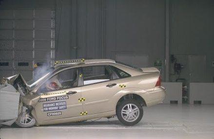 Dodge Stratus Crash Test at Washington 20059 DC
