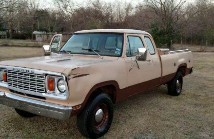 1978 Dodge Power Wagon Local Area 5154 Saxtons River VT