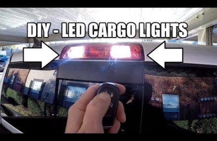 LED Cargo Rear Facing Lights Install DIY – HUGE IMPROVEMENT! – RAM 1500 2500 3500 Area Code 1807 Woburn MA