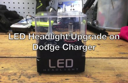 2014 Dodge Charger LED Headlight Bulb replacement  – NO BUMPER REMOVAL in 42022 Bandana KY
