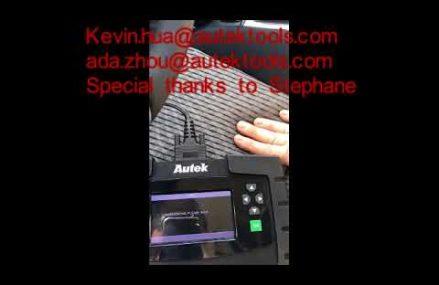 AUTEK IKEY820 Key Programmer 2018 TOYOTA 4 runner RHK G chip add key and program Remote at New York City 10133 NY