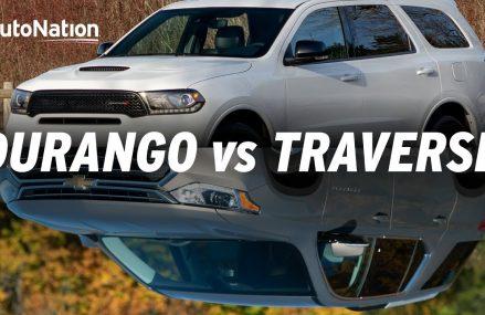 2019 Dodge Durango vs Chevy Traverse #autonationdrive Salem Oregon 2018