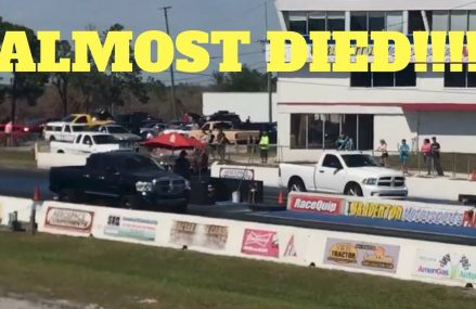 1000hp Cummins Drag Truck Gets Death Wobble At 120MPH!!! From 13486 Westernville NY