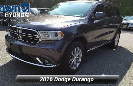 Used 2016 Dodge Durango SXT, Denville, NJ GC410532 Memphis Tennessee 2018